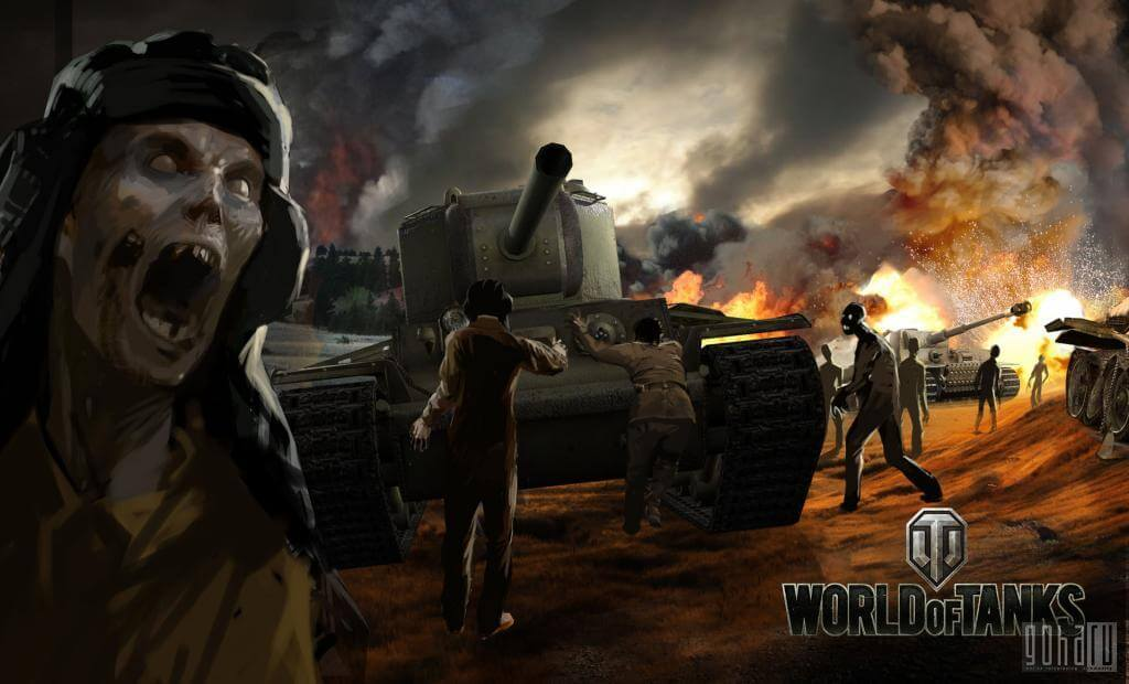 World of tanks  Operation undead