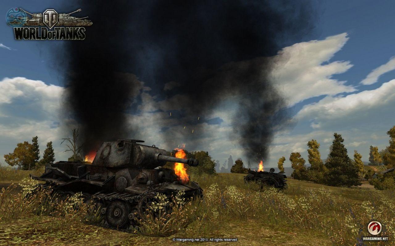 уничтоженный танк вот блиц