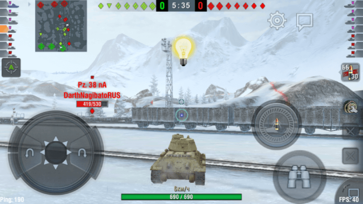 world of tanks blitz mod озвучка