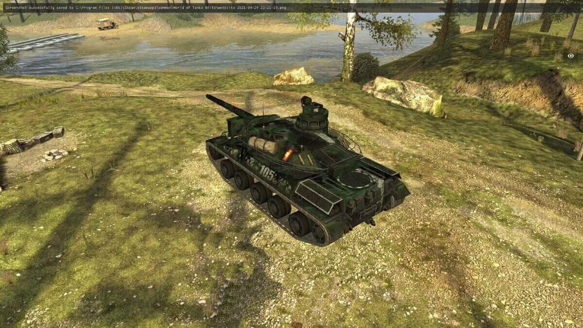 Шкурка AMX 30B Капрал