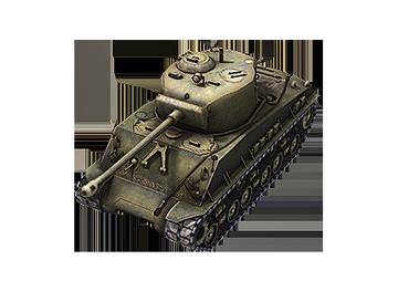 Средний танк M4A3E8 Sherman