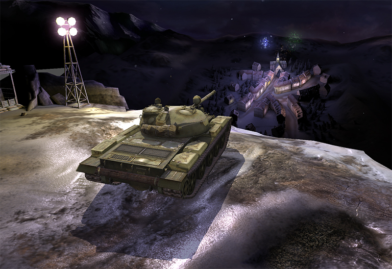 Новогодний ангар world of tanks blitz